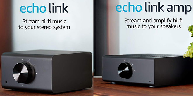 Amazon Devices & Accessories Stream and amplify hi-fi music to your speakers Echo Link Amp Audio
